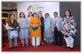 "A panel discussion titled ""Improving Women's Health in South Asia"