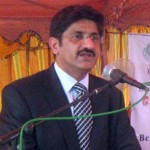 Sindh Minister for Irrigation Syed Murad Ali Shah