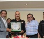 Inspector General Police – Sindh, A.D. Khowaja visits KCCI